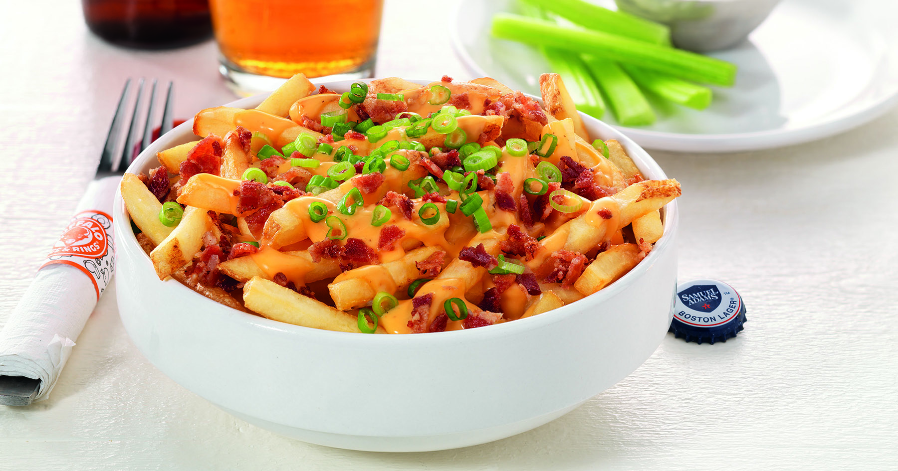 Sam Adams Beer Cheese Fries