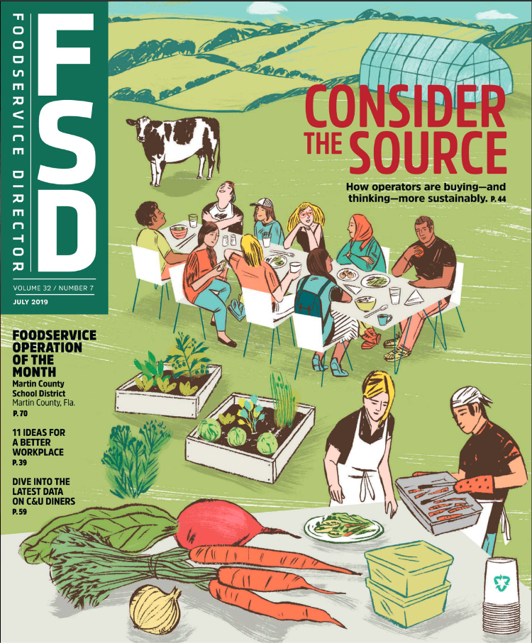 FoodService Director Magazine July 2019 Issue