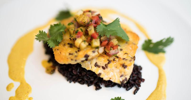 Tempeh With Curried Coconut Sauce