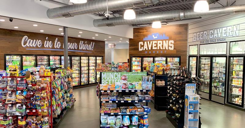 caverns market