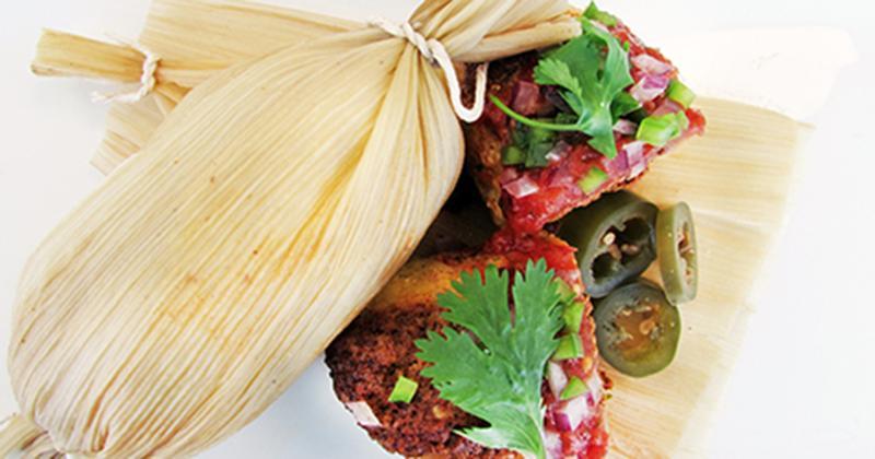 Impossible Chorizo Tamales