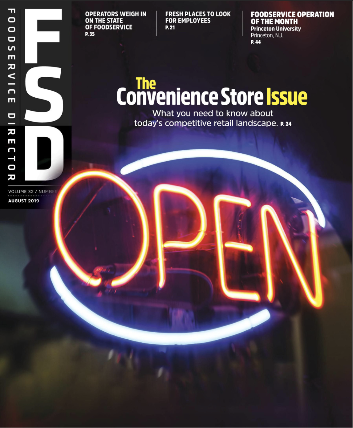 FoodService Director Magazine August 2019 Issue