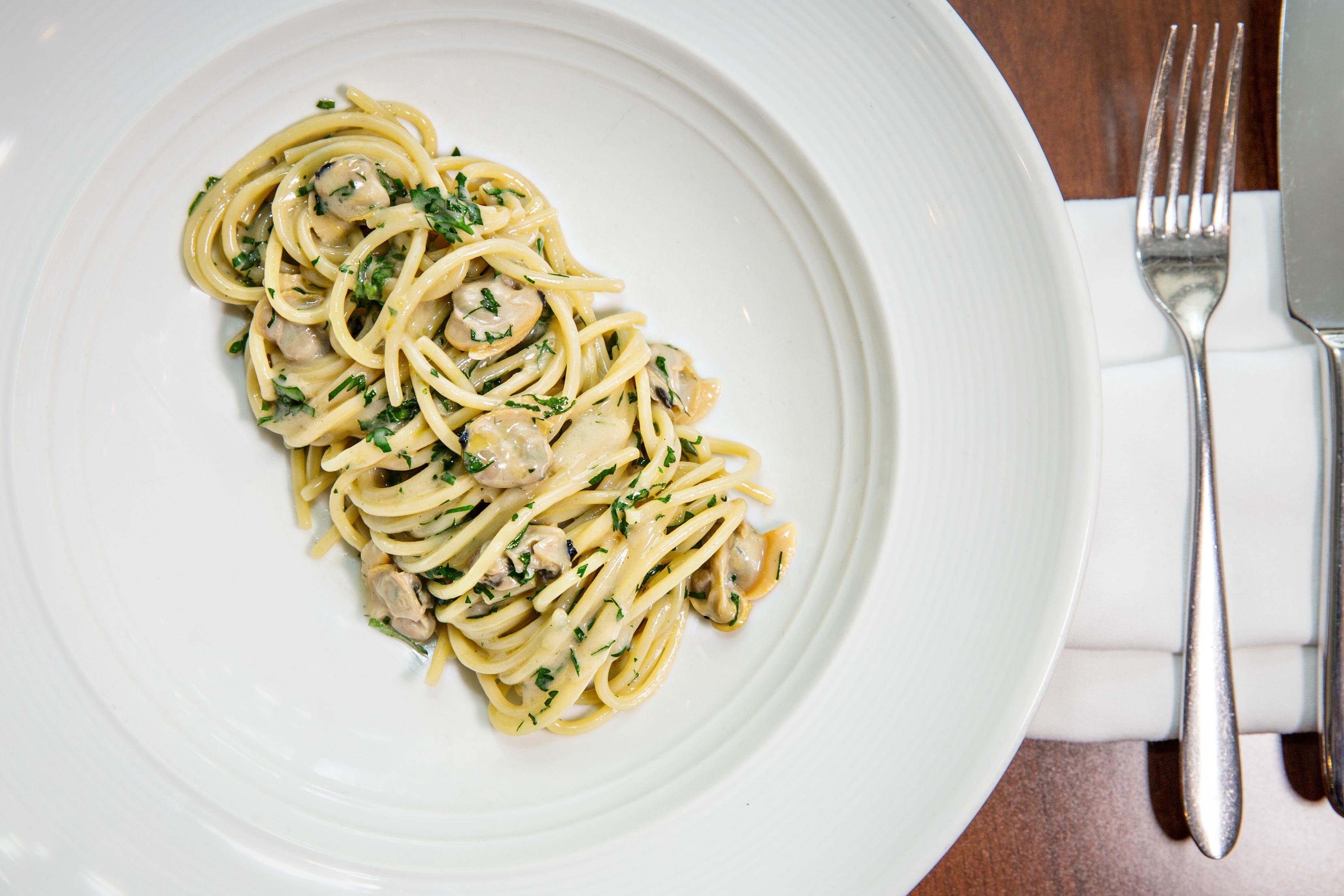 Spaghetti with North Carolina Clams