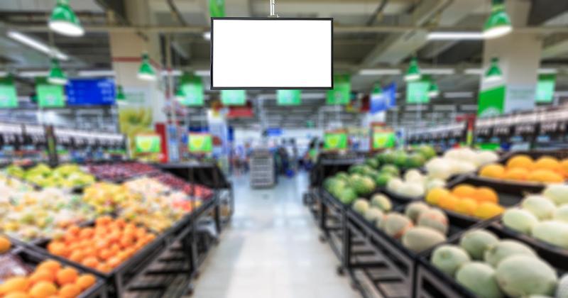 Digital Screens Grocery