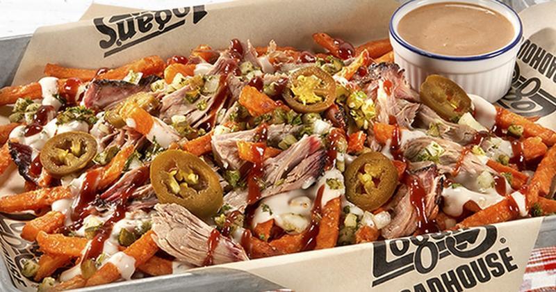 Overloaded Sweet Potato Fries