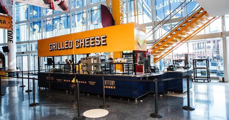 Grilled Cheese Station