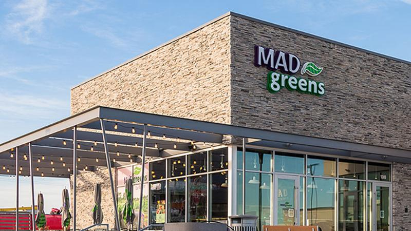 mad greens storefront