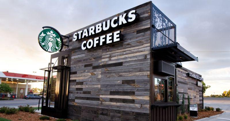 Starbucks coffee storefront