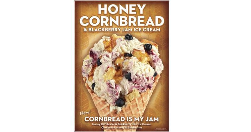 Honey Cornbread Berry Pie