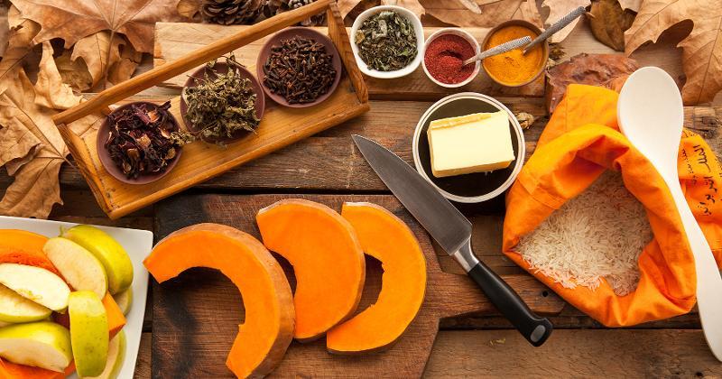 fall seasonal ingredients