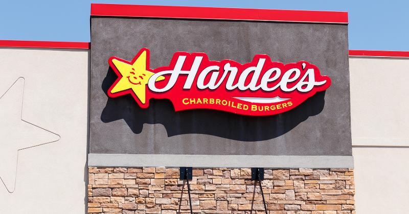 Hardees storefront