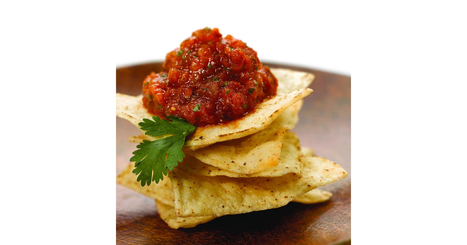 Charred Tomato and Onion Salsa
