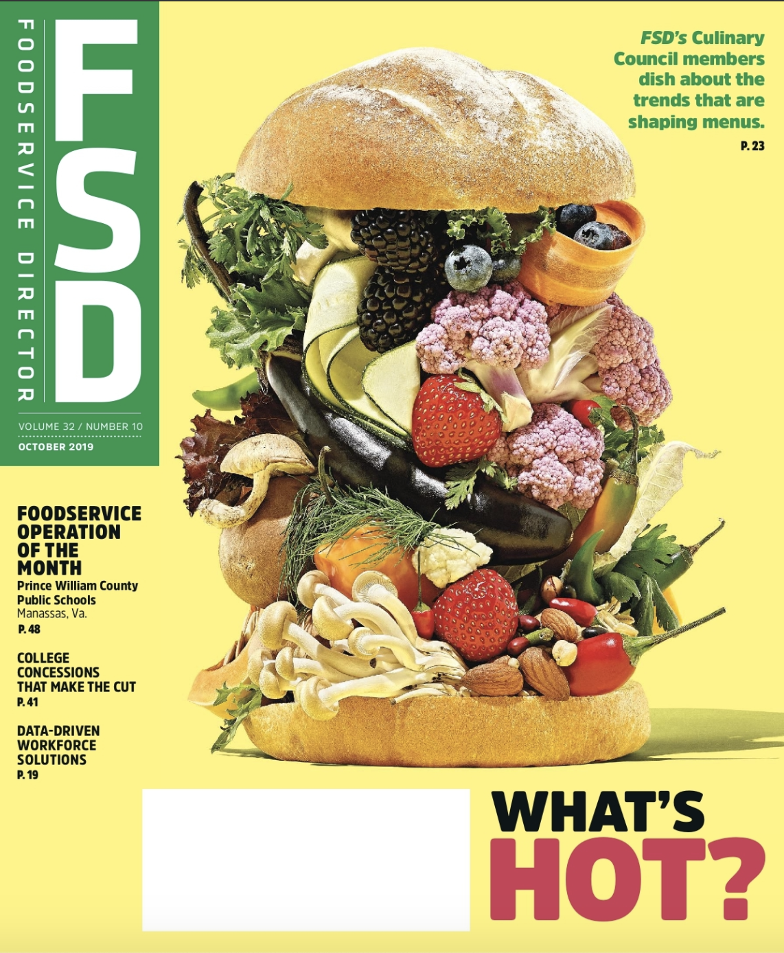 FoodService Director Magazine October 2019 Issue
