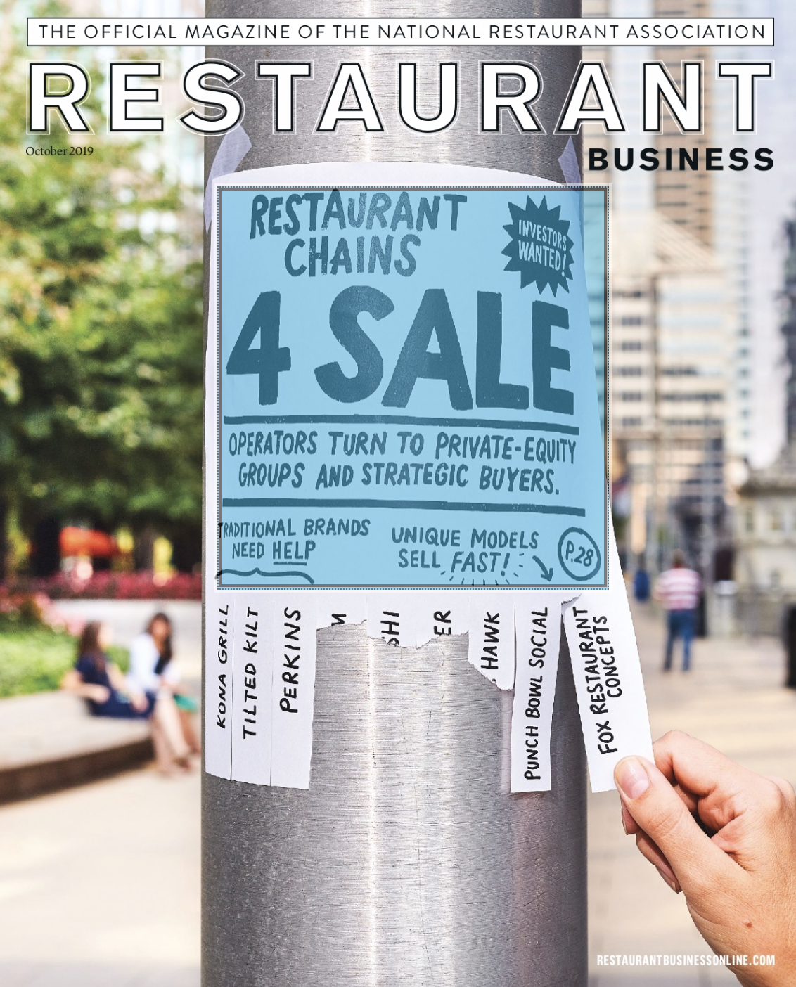 Restaurant Business Magazine October 2019 Issue