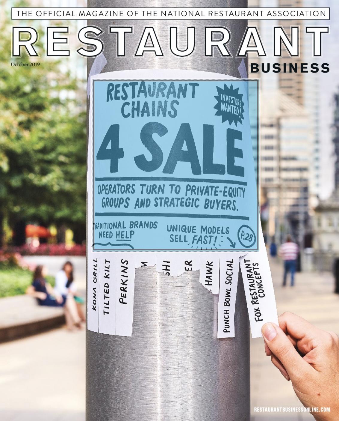 Restaurant Business Magazine October 2019 Issue