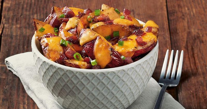 Loaded Roast Potatoes