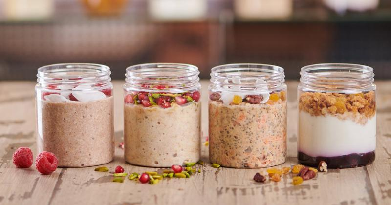 Carrot Cake Overnight Oats Pot