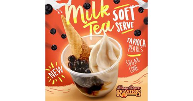 milk tea soft serve