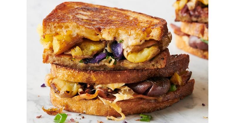 Potato Medley Grilled Cheese