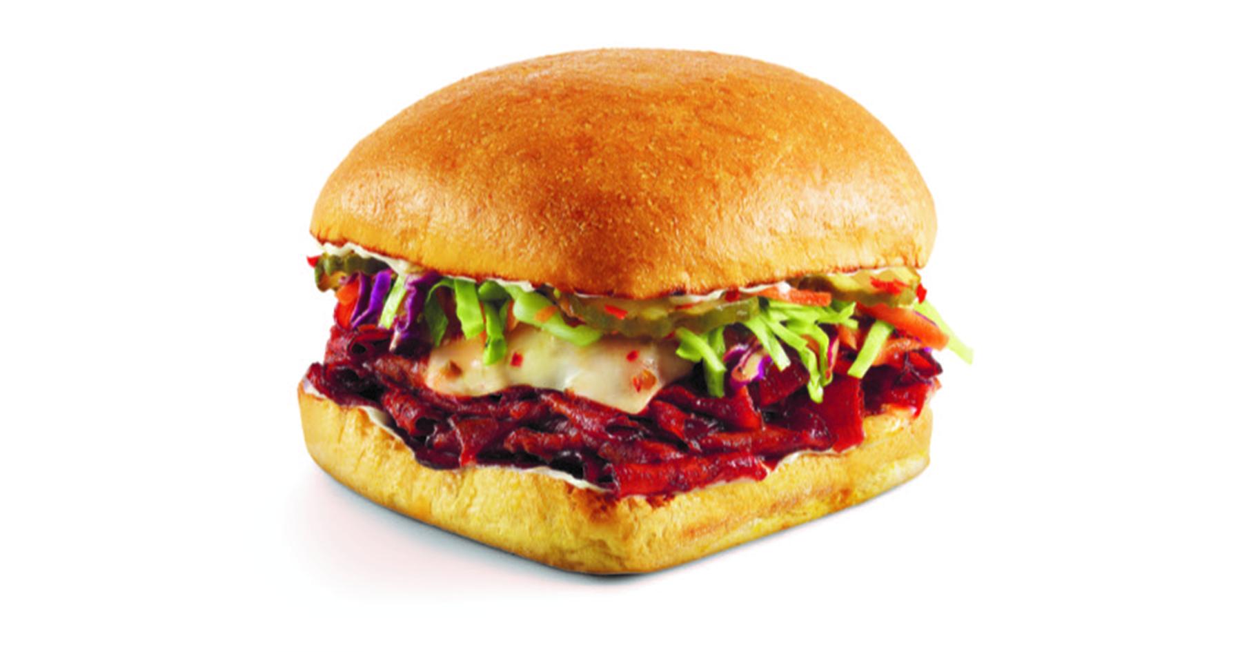 Nashville Hot Brisket Sandwich