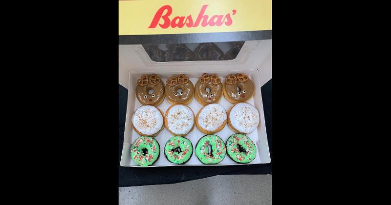 Bashas Holiday Donuts