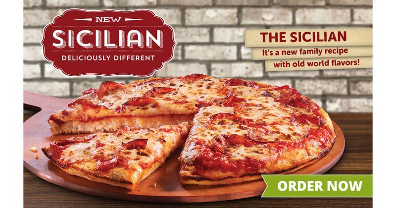 The Sicilian Pizza