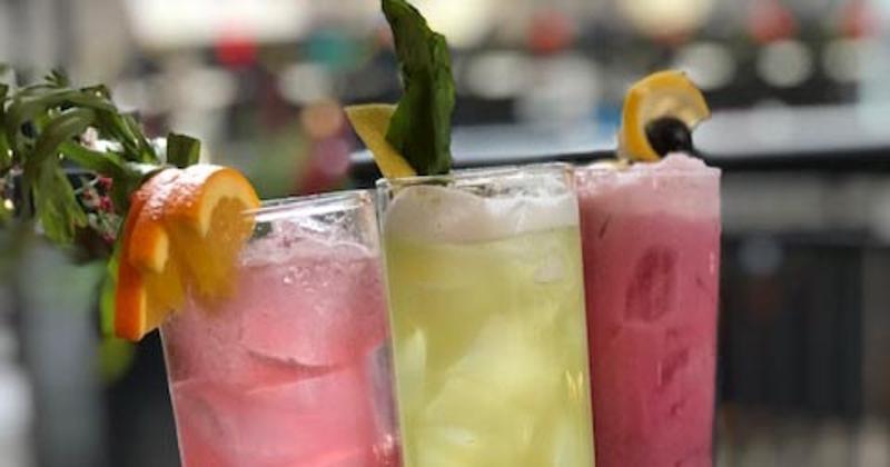 Purple Pig Mocktails