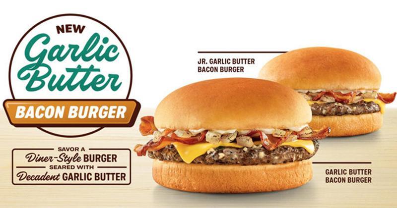 Garlic Butter Bacon Burger