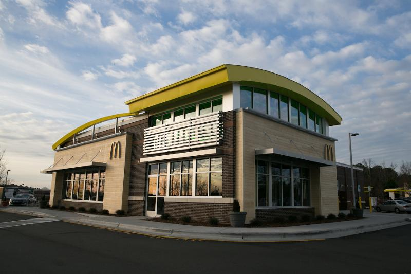 McDonald's storefront