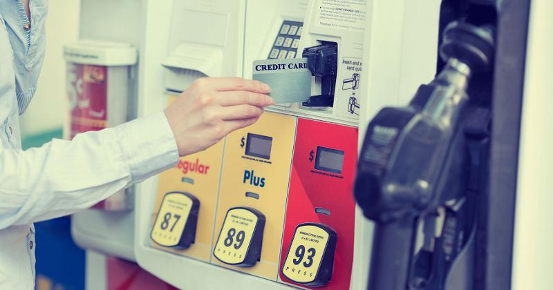 gas pump card