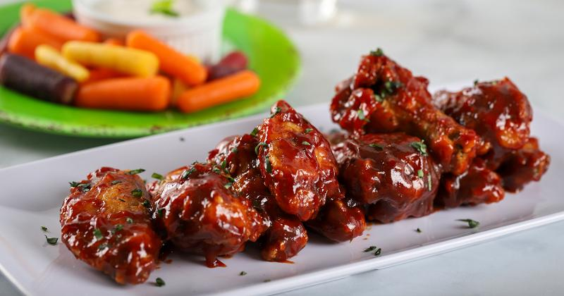 honey guava sriracha wings