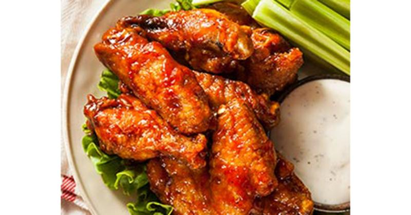 achiote-spiced chicken wings