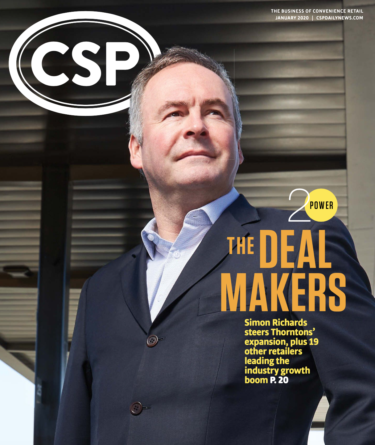 CSP Daily News Magazine January 2020 | Power 20: The Deal Makers Issue
