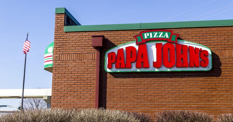 papa johns storefront
