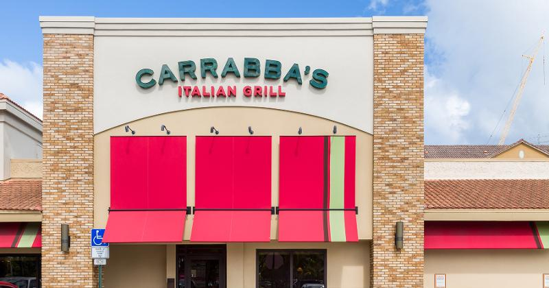 Carrabba's storefront