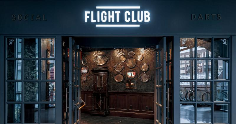 Flight club storefront