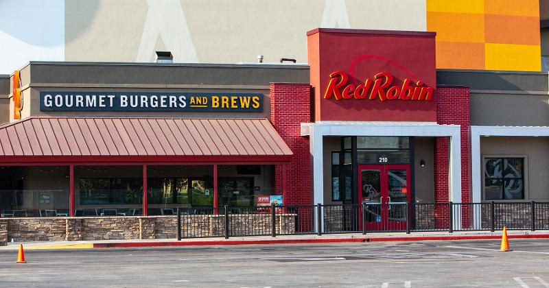Red Robin storefront