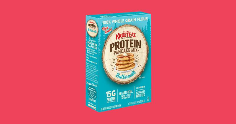 Krusteaz Protein and Whole Grain Baking Mixes