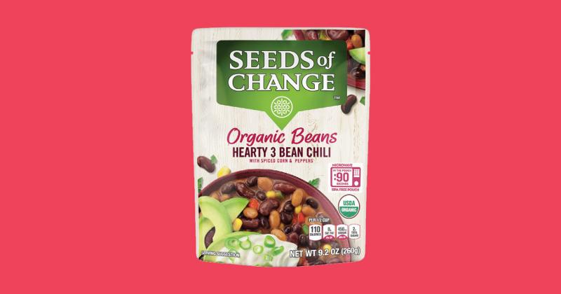 Uncle Ben's Seeds of Change Organic Beans
