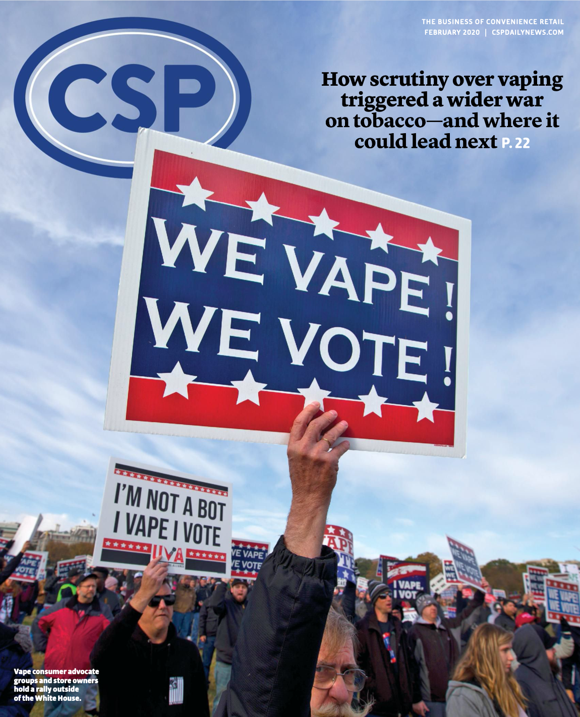 CSP Daily News Magazine February 2020 | The Politics of Vaping Issue