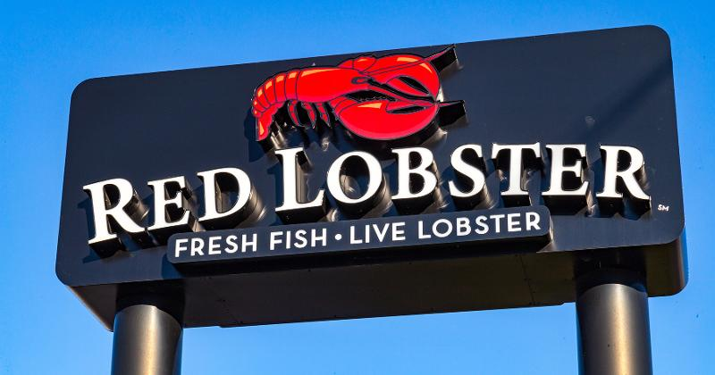 red lobster sign