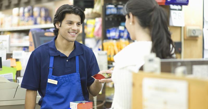 retail worker