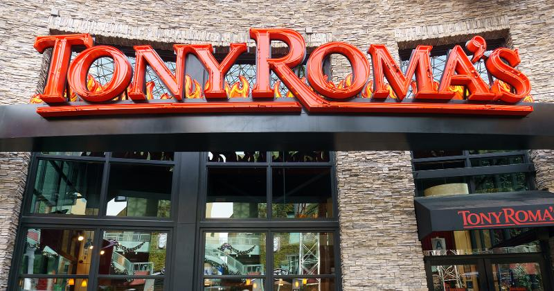 Tony roma's storefront