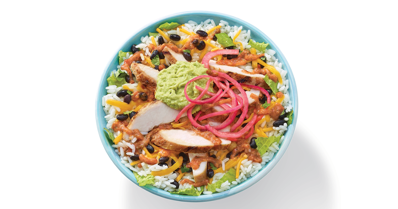 baja chicken bowl