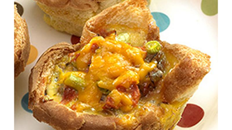 Southwest Omelet Cups