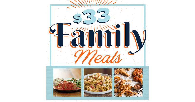 Cotton Patch family meals