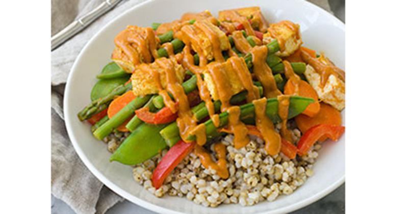 Stir-Fried Thai Sorghum Bowl