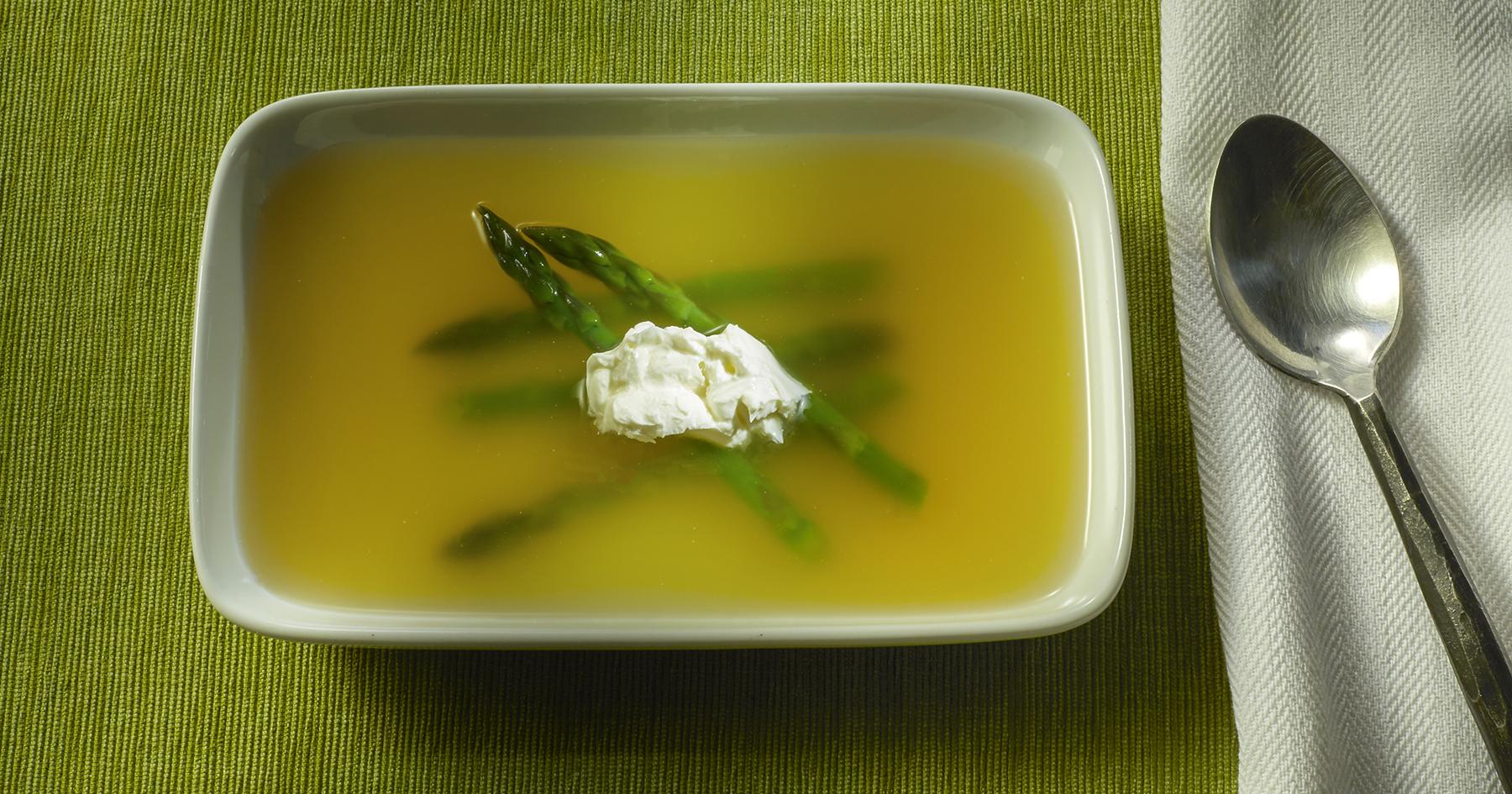 Asparagus Royale Soup
