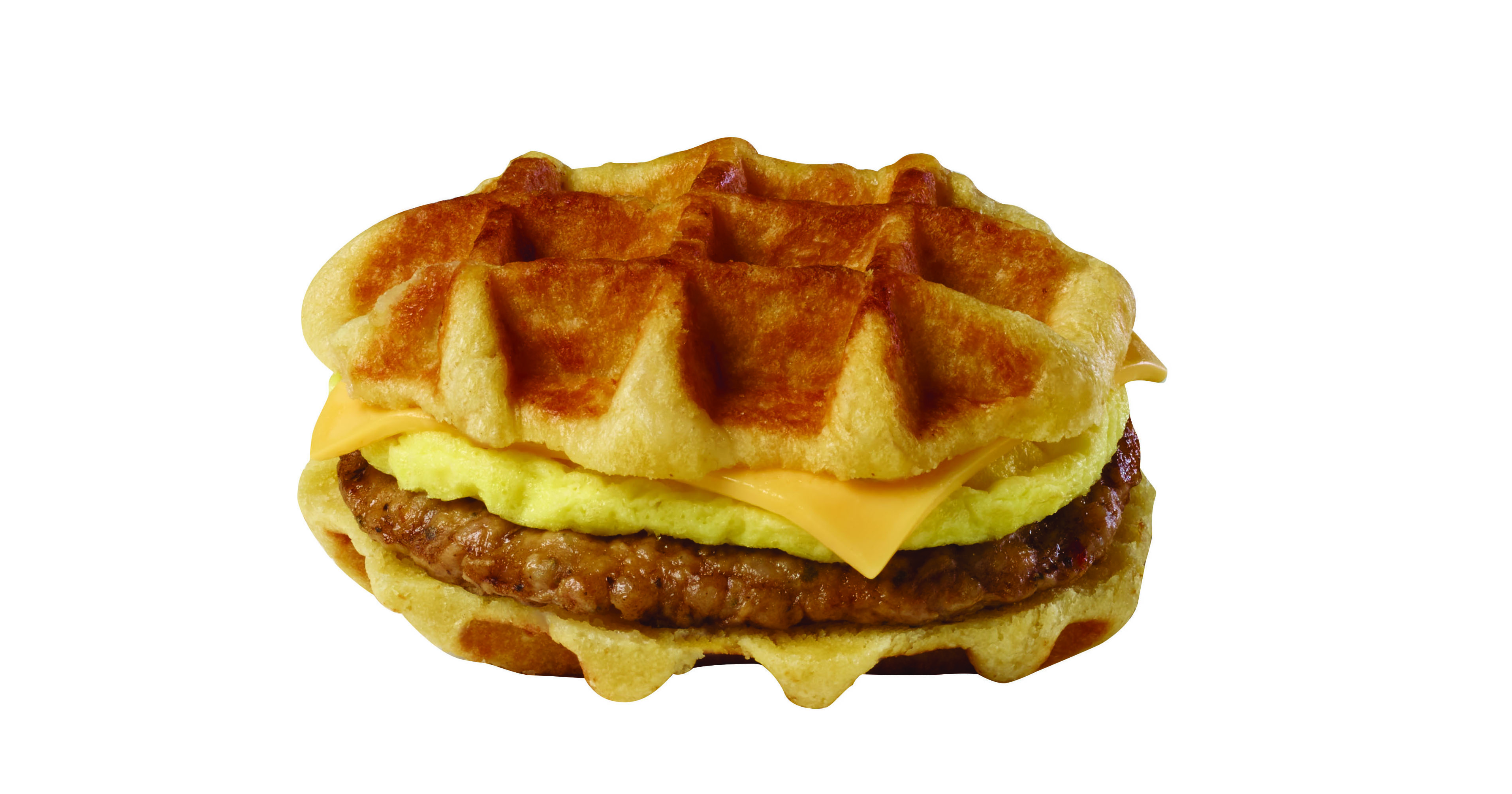 Sliced Sandwich Waffles