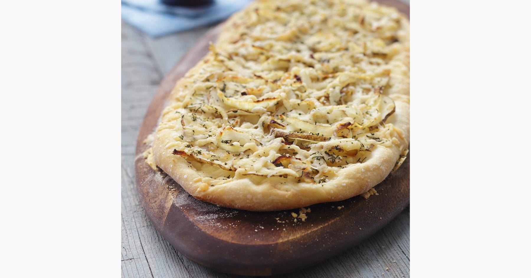 Potato Rosemary Flatbreads